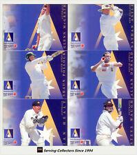 1997/98 Select Cricket Ansett Cup Trading Card Set (12)-Rare