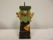 Ganz Halloween Wooden Witch Candle Holder Cute Decoration