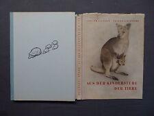 Buch, Heilborn / Böhme, Aus der Kinderstube der Tiere, Brehm-Bücherei 1954, DDR