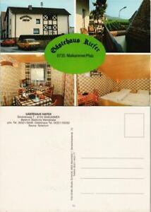 Maikammer Gästehaus Kiefer, Innen-/Außenansichten Mehrbild-AK 1970