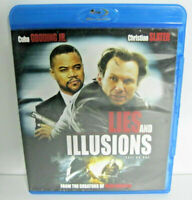 Lies and Illusions Blu-Ray Bluray Free Shipping in Canada Rare