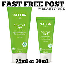 Weleda SKIN FOOD LIGHT For Dry Skin Face and Body 30ml or 75ml - FAST DISPATCH