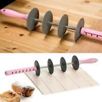 Küchen-Plastikhörnchen-Rollen-Schneider-Brot-Teig-Gebäck-Messer-Backen-Werkzeug