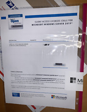 Microsoft Windows Server 2019 15 User CAL Bundle - Genuine Licensing