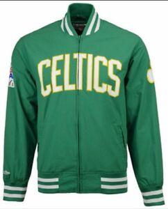 Authentic NBA Mitchell & Ness Green Boston Celtics Champions Warm-up Jacket