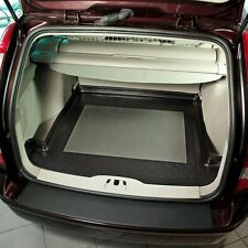Perfect Fit Black Durable Boot Liner Mat Tray Tailored for Volvo V50 Estate 05