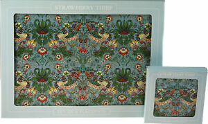 Strawberry Thief Place Mats Coasters William Morris Placemats Table Mats Sets