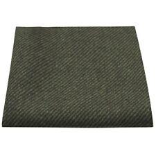 Dark Green Sharkskin Pocket Square, Handkerchief