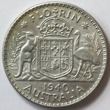 Australia. 1940 Florin, Choice Uncirculated