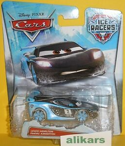 Ice Racers LEWIS HAMILTON Disney Cars racing auto diecast British racer vehicle