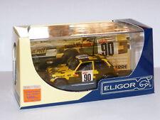 voiture 1/43 ELIGOR Renault 5 alpine équipage militaire 1978 Rallye 1000 pistes