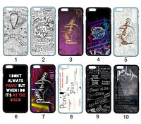 Panic at The Disco Lyric For iPhone iPod Samsung LG Moto SONY HTC HUAWEI Ho Case
