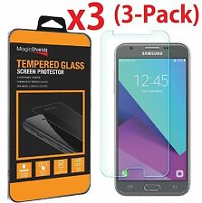 3-Pack Samsung Premium HD Tempered Glass Screen Protector for Galaxy J3 Emerge