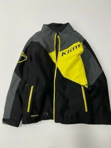 KLIM Powerxross Winter/Snowmobile Jacket - Men's Large - Klim Yellow