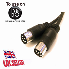 Powerlink 8 pin DIN mk2 Speaker Cable for Bang & Olufsen B&O BeoLab 4 meters