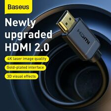 Baseus HDMI to HDMI Cable V2.0 3D Ultra HD 4K High Speed Adapter Cable 1m 2m-15m