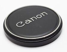 Canon Metal Push-On Lens Cap 60mm/58mm FL 50mm 1.4 55mm 1.2 Slip-On Pressure Fit