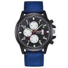 Fashion Men's Sport Military Date Quartz Analog Watch Army Casual Wrist Watches