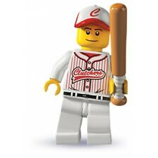 LEGO Minifig series 3 8803 Baseball player jacket cap 4