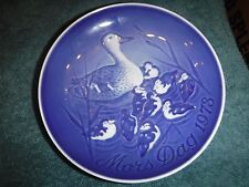 Bing & Grondahl Mother's Day Plate 1973 Duck Ducklings