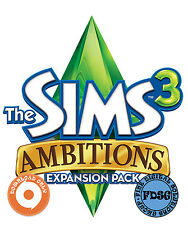 The Sims 3 Ambitions Origin Code CD KEY WORLDWIDE REGION FREE