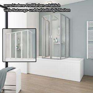 Duschkabine Duschabtrennung Schulte Dusche Drehtür inkl Seitenwand Nano Glas
