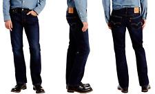 Levi's 527 Slim Bootcut Men's Jeans Dark Blue 32x30, W32/L30 New/Levi #055270490