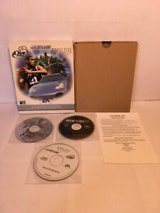 EA Compilation Big Box PC Game Populous NBA Live 2000 NFS Porsche 2000 Rare