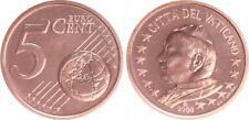 Vaticano 5 Céntimos 2003 Moneda de Curso Con Papstmotiv Recién Acuñado