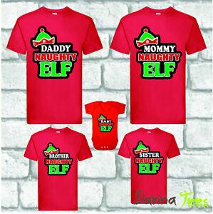Christmas Novelty T-shirt * Mom, Dad, Boys, Girl, Baby * Festive Cool Xmas Gift