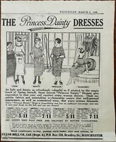 Stand Mill Co. Manchester. The Princess Dainty Dresses Vintage Advert 1922