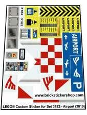 Replica Sticker for Lego®City set 3182 - Airport (2010)