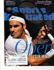 Sports Illustrated - Aug 26, 2017 - Roger Federer Cover - US Open, Mayweather