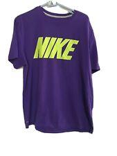 Nike Dry Fit Shirt XL Purple