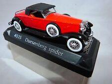 Tre solido modellini di auto BUGATTI CITROEN Duesenberg