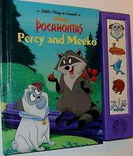 Disney Pocahontas Percy and Meeko Electronic Play a sound Book 1995 Works Great