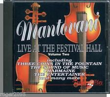 Mantovani - Live At The Festival Hall Vol 2 - New 1990s European CD!