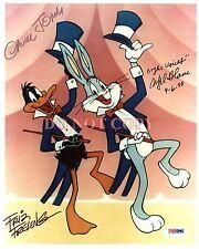 Chuck Jones Mel Blanc Friz Freleng 8X10 Autographed Photo Bugs Bunny Reprint