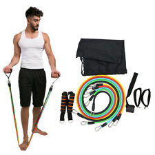 Fitness Pull Rope Resistance Bands Exercises Bodybuilding Expander 11pcs Set