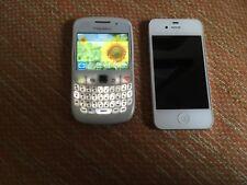 Iphone 4S de 16Gb blanco + blackberry 8520 libre