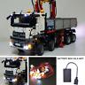 LED Light Kit ONLY For LEGO 42043 Mercedes-Benz Arocs 3245 Truck Lighting Bricks