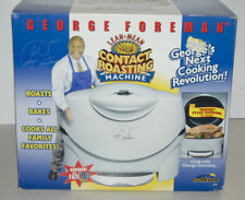 George Foreman GV5 Lean Mean Contact Roasting Machine Roaster BRAND NEW IN BOX