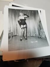 4 X 5 ORGINAL NEGATIVE PHOTO FROM IRVING KLAW ARCHIVES OF TRUDY WAYNE TW #118