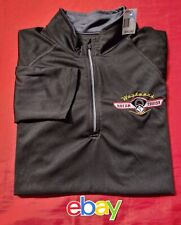 RARE North End 1/4 ZIP WOODWARD DREAM CRUISE Detroit BLACK SHIRT SZ M NEW NWT !!