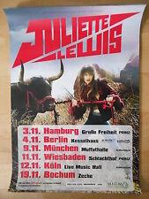 JULIETTE LEWIS 2009 TOUR   orig.Concert-Konzert-Tour-Poster-Plakat DIN A1 NEU