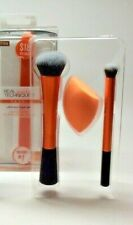 Retail Real Techniques limited edition Ultimate Base Set makeup brushes + sponge