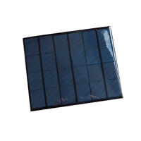DIY 6V 3.5W MINI SMALL SOLAR PANEL PV POLYCRYSTALLINE POWER PANEL BATTERY NM