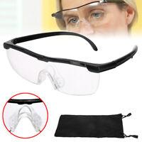Magnifying Magnification Eyewear 200% Reading Watching TV Glasses Eyeglasses
