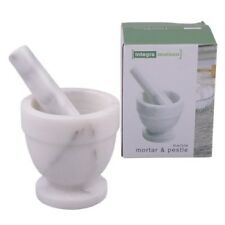 D.Line 10cm Mortar and Pestle Marble Grey Brand New