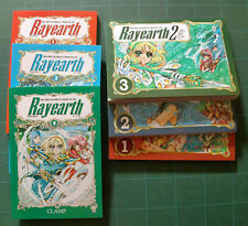 FUMETTI MANGA Rayearth 1/6 X Clamp Serie Completa Manga Star Comics NUOVI